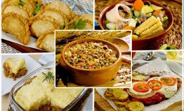 Las 5 comidas más amadas de nuestro país.