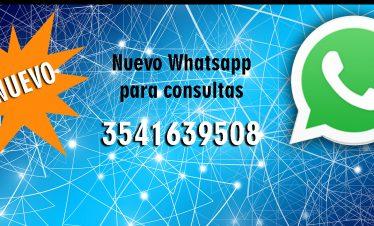 Nuevo Whatsapp para consultas